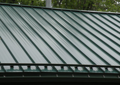 Crown-Loc Panel at Ohio Valley Metal Roofing in Bridgeport, Ohio